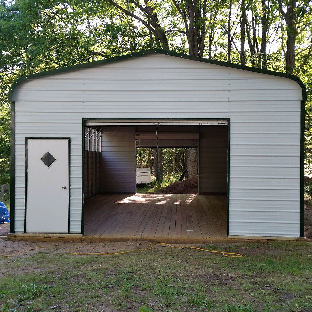 Shop Metal Carports Sheds And Garages Near Me Metal Shed Shed