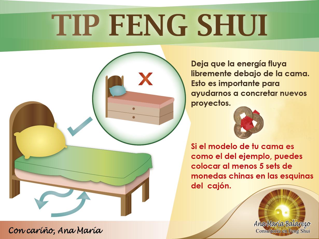 Fengshui deja que debajo de tu cama est libre de for Segun feng shui donde mejor poner cama