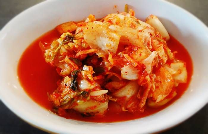Cara Membuat Kimchi Korea Yang Halal Dan Lezat Sipendik Resep Masakan Pedas Kimchi Resep Masakan Asia