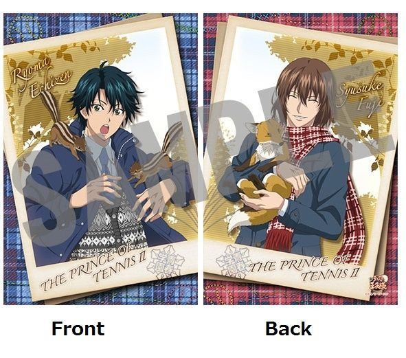 Event Limited The Prince of Tennis Big Pillow Cushion Echizen Ryoma Fuji Syusuke