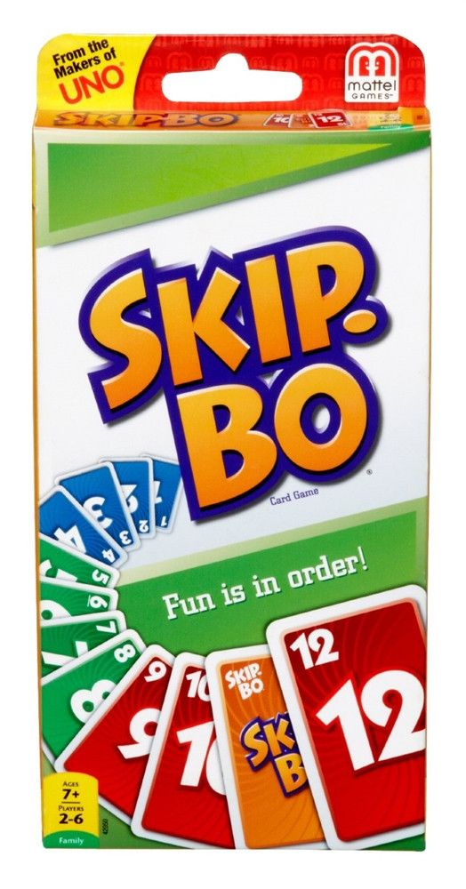 Skip Bo Card Game Odds And Ends Pinterest Mattel