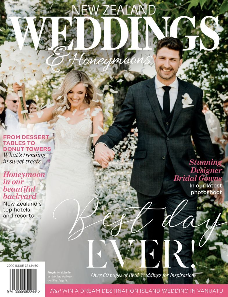 New Zealand Weddings Magazine Subscription Digital In 2020 Modern Bride Wedding Magazine Bridal