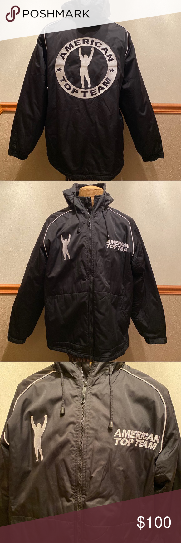 Official Fight Team American Top Team Jacket Team Jackets Jackets Clothes Design [ 1740 x 580 Pixel ]
