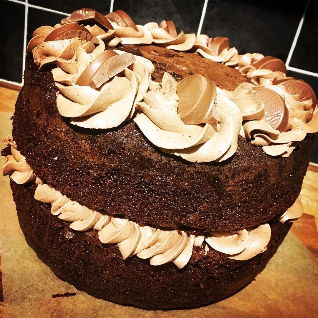 Schokoladen Orangen Kuchen Glutenfreier Zitronen Biskuitkuchen Und Karamell Shortbread Biskuitkuchen Shortbread Oreo Torte
