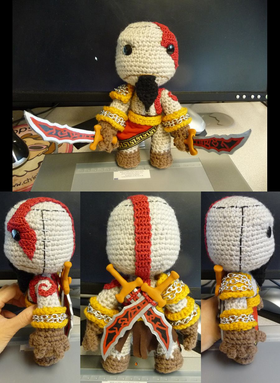 God of War Kratos Sackboy by ~magyss on deviantART | Happy Gaming ...
