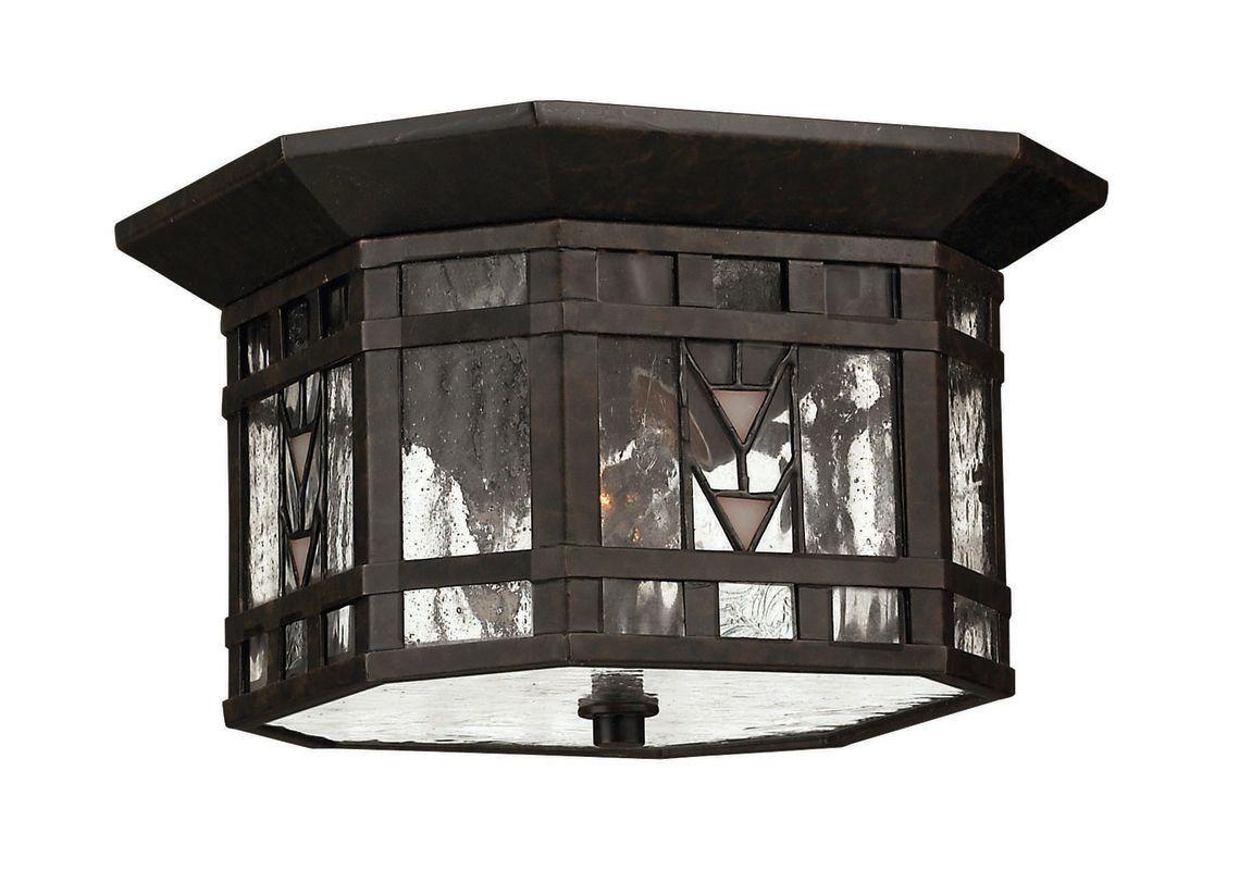 Hinkley Lighting H Light Outdoor Flush Mount Ceiling Fixture