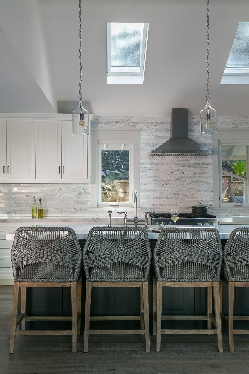 Seating in the kitchen needs to be comfortable and practical but also pretty at   why  love finding perfect counter bar stools for my clients interior design top kitchens rh pinterest