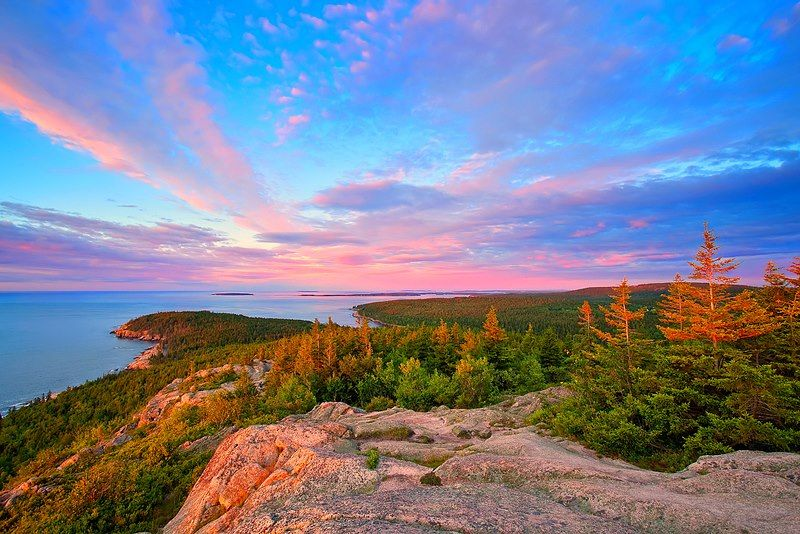 Beautiful Acadia National Park A Common Day Trip From