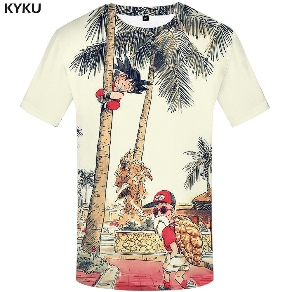 e2244e679d41 KYKU Brand Dragon Ball T Shirt 3d T-shirt Anime Men T Shirt Funny T Shirts  Hip Hop 2017 Japanese Mens Clothes Vintage Clothing