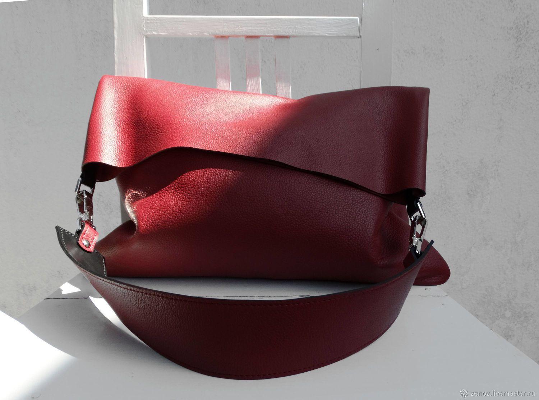 40070fadbd85 Женские сумки ручной работы. Заказать БОХО стиль Кожаная сумка женская HOBO  ХОБО шопер пакет ручная