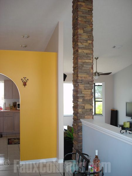 Dry Stone Pillar : Drystack earth stone columns honey do pinterest
