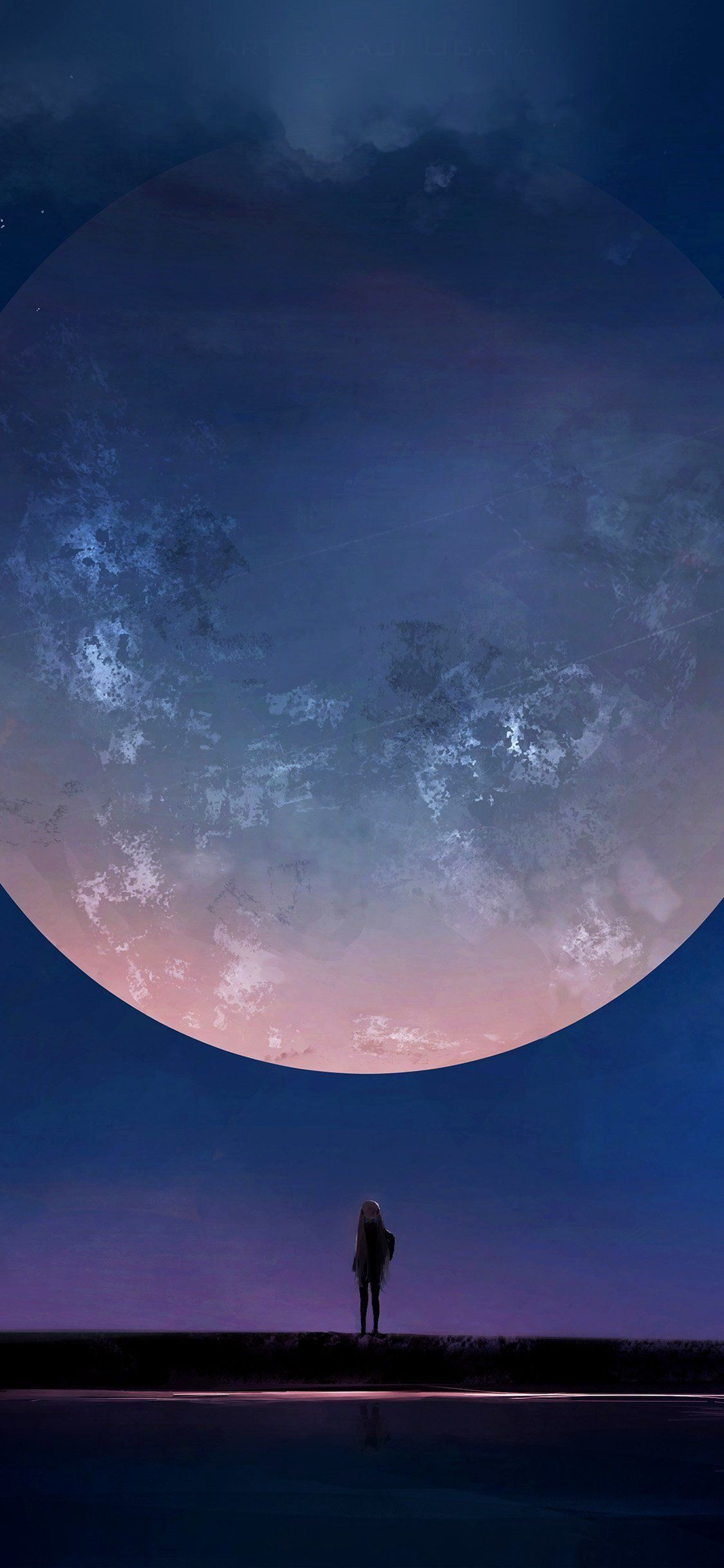 Night Sky Wallpaper 4k Iphone Trick Iphone Night Nightskyiphone Sky Trick Iphone Night Sky Tri In 2020 Night Sky Wallpaper Anime Wallpaper Download Night Art