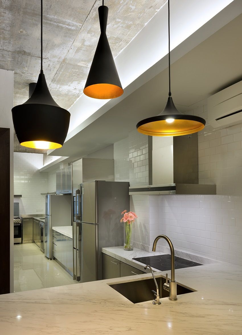 Modern Kitchen In Old House