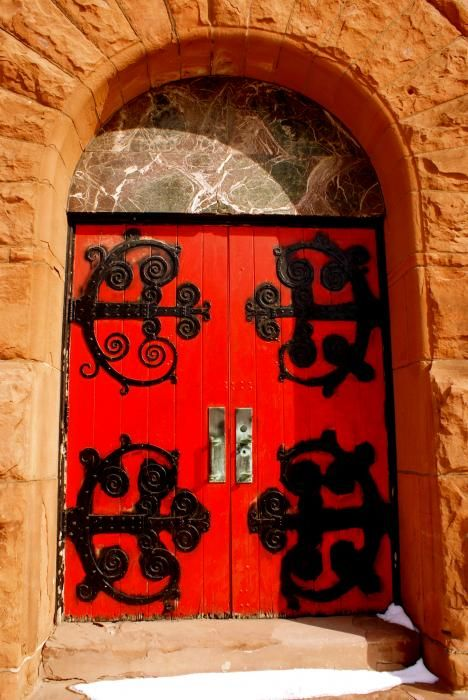Historic Church Doors Canvas Print / Canvas Art by Sonja Anderson & church doors | Doors~Portals~Hardware | Pinterest | Doors ...