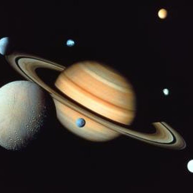 Science Projects on Saturn