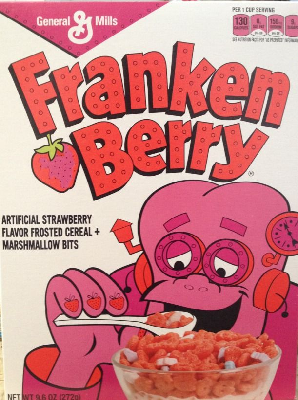 Franken Berry The Beloved Halloween Cereal Was Once Medically