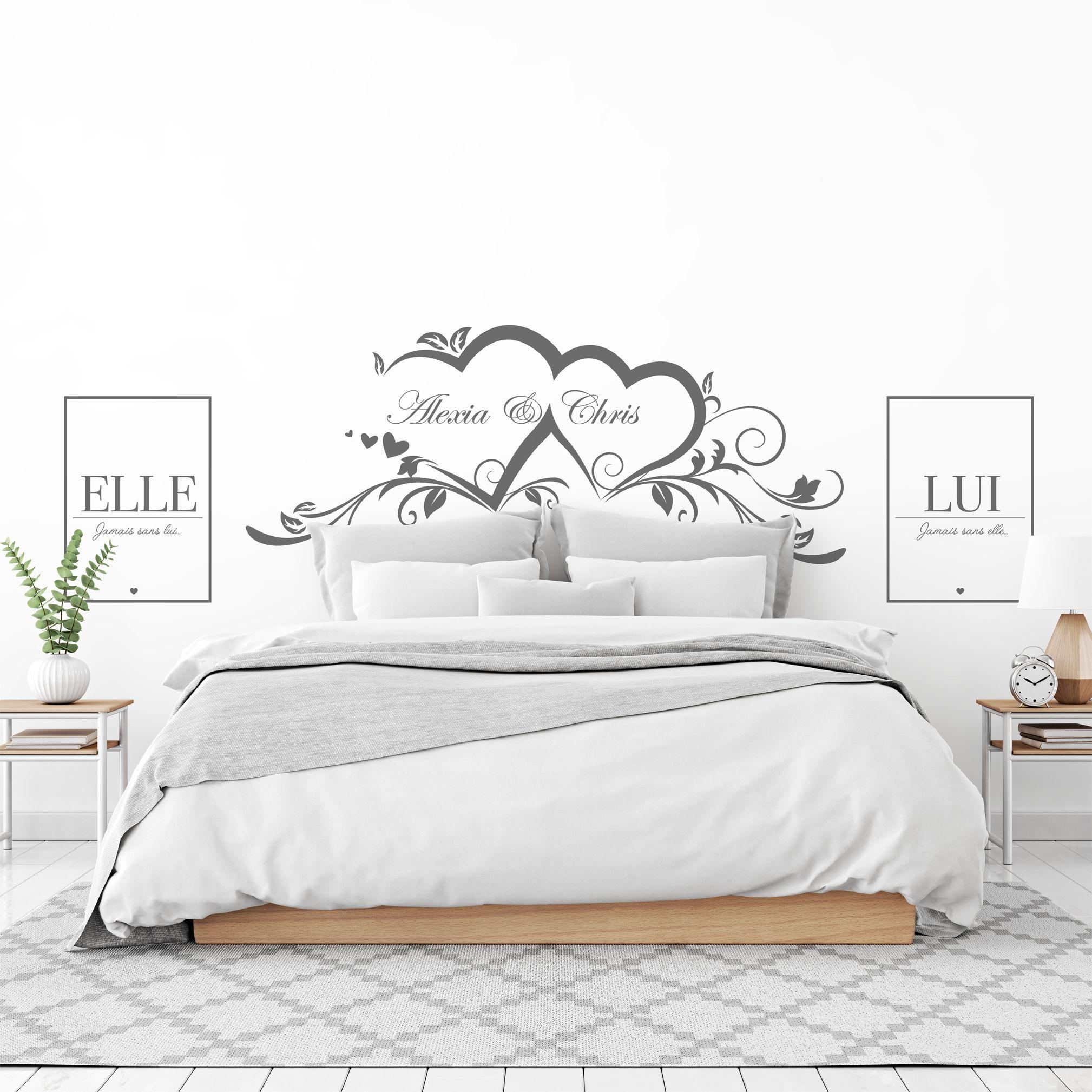 Déco chambre à coucher  Déco chambre parentale romantique, Deco