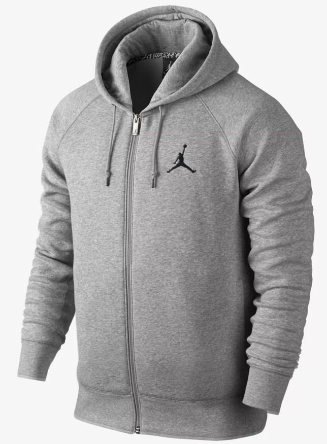 74d338130767 MEN S NIKE JORDAN JUMPMAN HOODIE JACKET FULL ZIP FLEECE 845861 063 SIZE XL  NWT  Nike  Hoodie