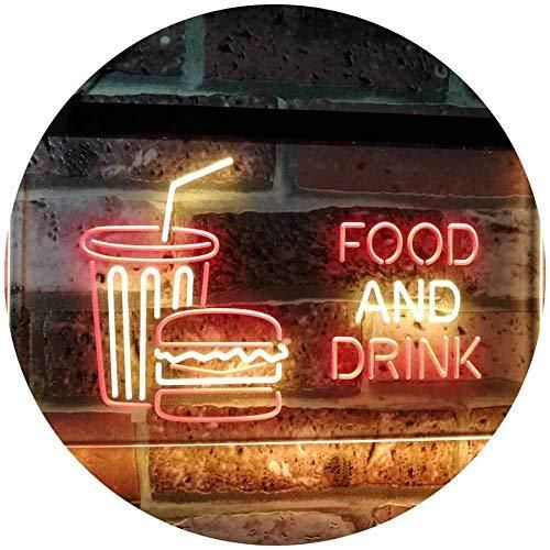 Soda Burgers Food and Drink LED Neon Light Sign