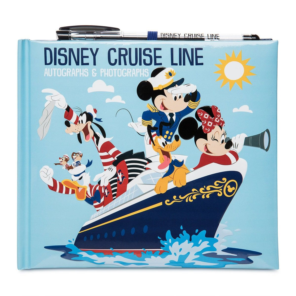 Mickey Mouse And Friends Disney Cruise Line Autograph And Photo