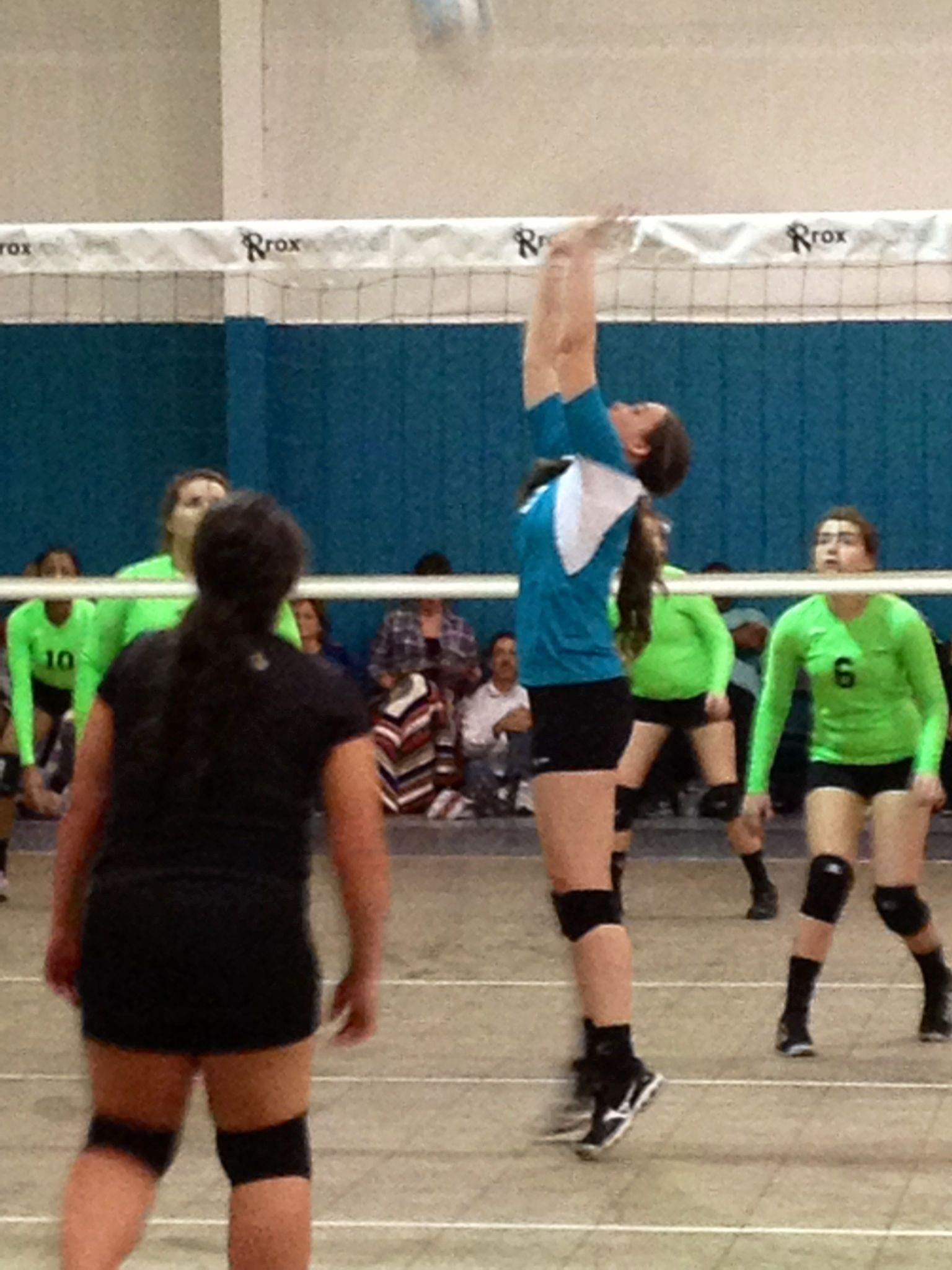 Hannah Volleyball Setter Jjva
