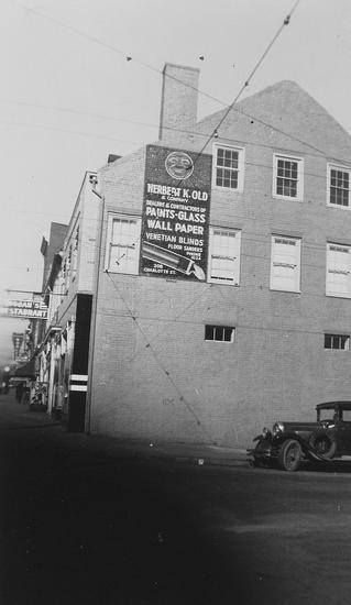 Early View Of Dugan S Restaurant Corner Of Hanover And