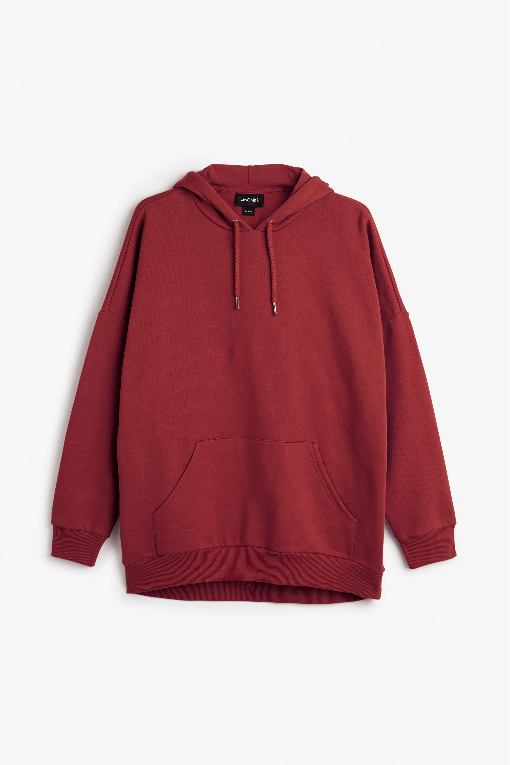 22a2d8d46 Monki Image 1 of Oversize hoodie in Red Yellowish Dark | outfits ...