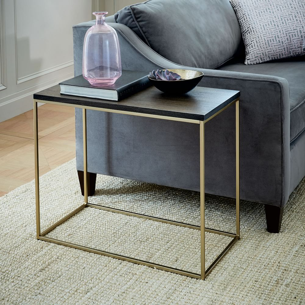 Merveilleux Streamline Narrow Side Table