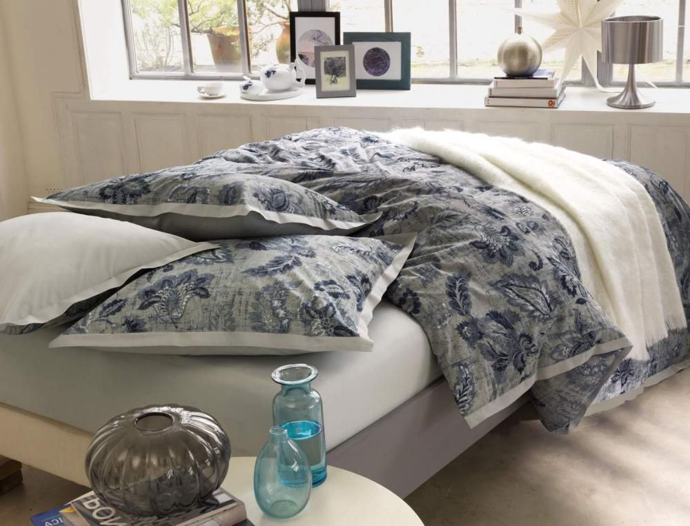 Gamme bleu batik chez linvosges homesweethome pinterest linge de lit lit et linge de lit - Linvosges housse couette ...
