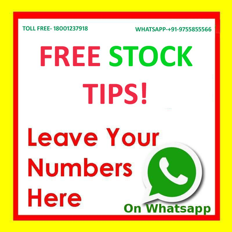 Free life time daily Stock signals (All Segment)  whats app your