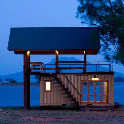 Casas construidas con contenedores marítimos | Lindas casitas ...