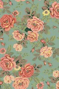 Diseno Floreado Dibujos Flores Vintage Fondos De Flores