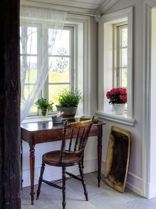 Small Cottage Interiors Cozy Home Office Cottage: Cozy House, Cottage Inspiration, House Interior