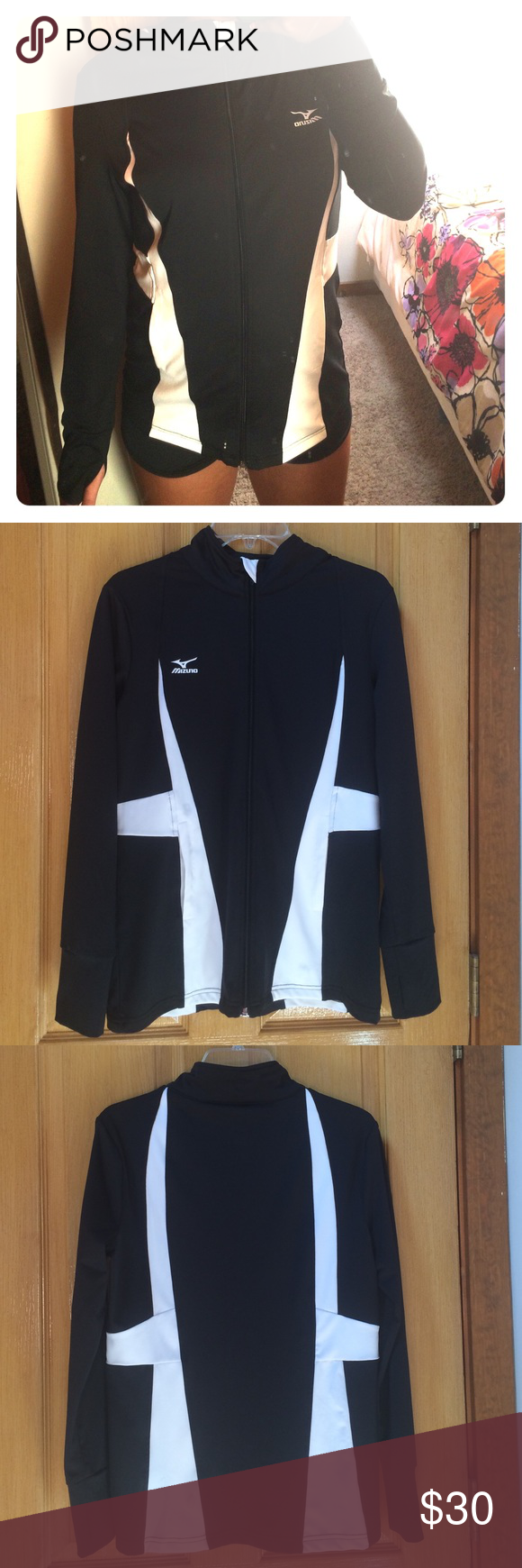 Mizuno Drylite Lightweight Performance Jacket Mizuno Drylite Lightweight Performance Full Zip Jacket With Thumb Holes Per Warmup Jacket Jackets Clothes Design