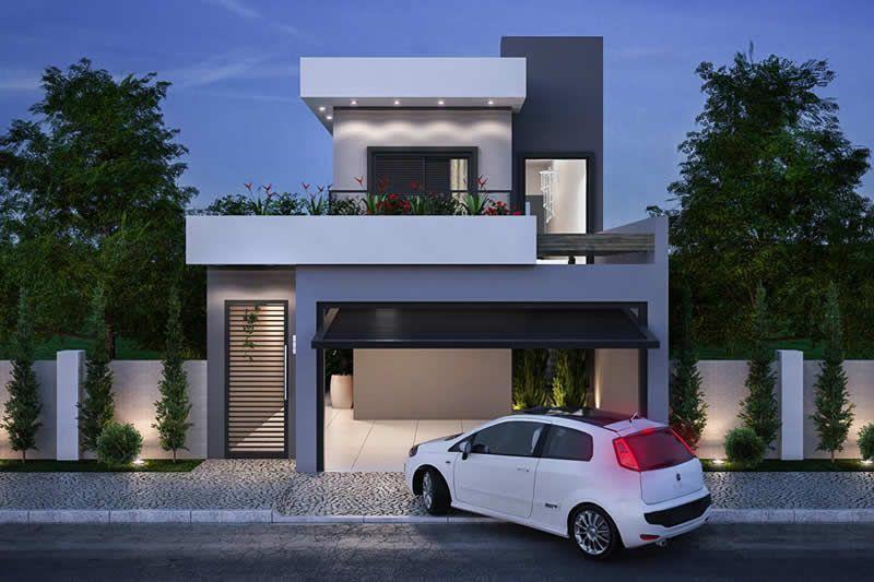 16 Planos de casas 7x20