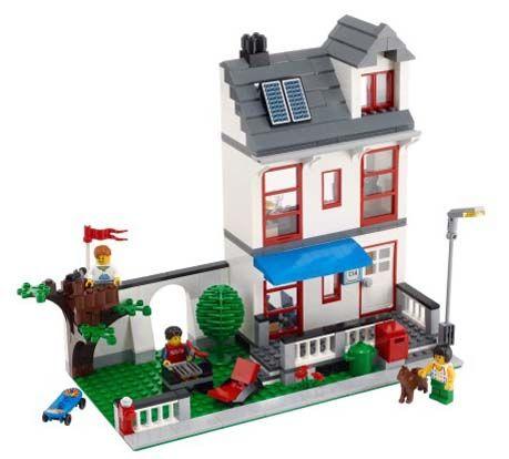 Lego City rumah   Mainan Lego   Lego house, Lego city sets ...