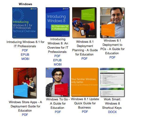 Microsoft compartilha quase 300 ebooks sobre tecnologia de graça (em inglês) - http://showmetech.band.uol.com.br/microsoft-compartilha-quase-300-ebooks-sobre-tecnologia-de-graca-em-ingles/
