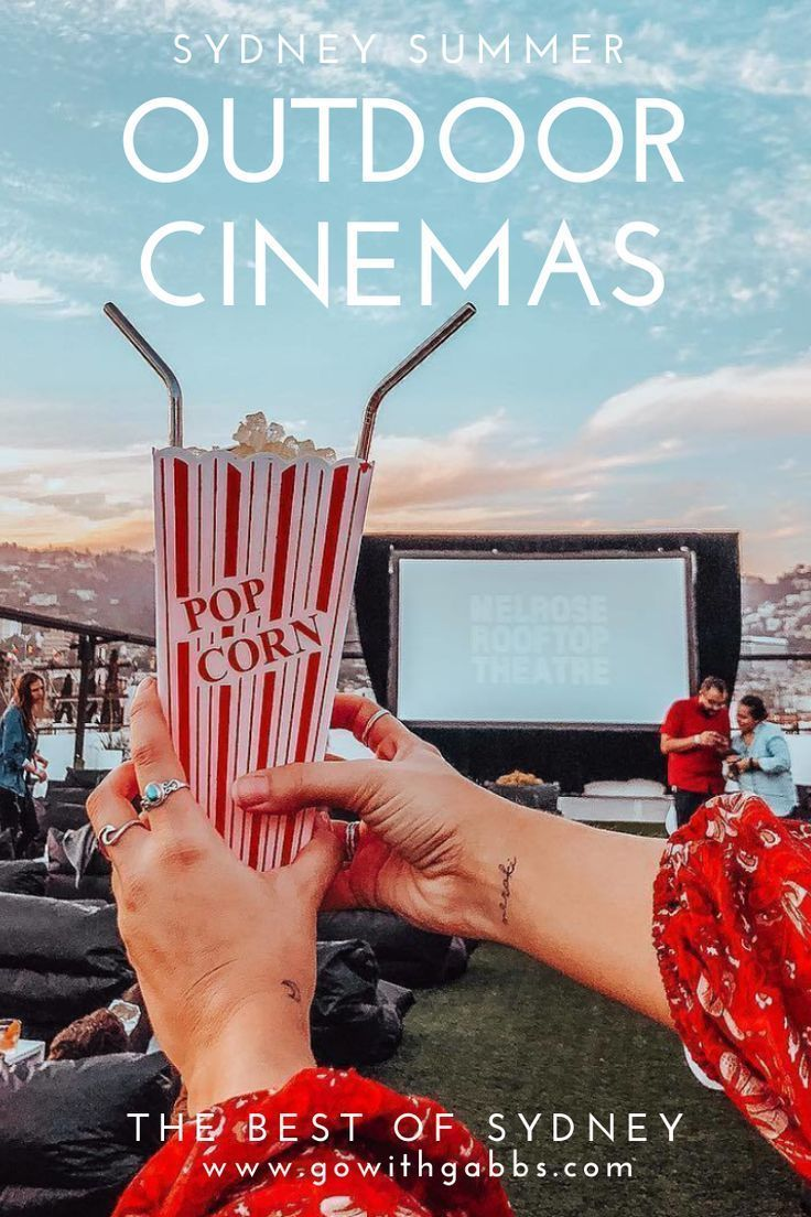Sydney Outdoor Cinema in 2020 Outdoor cinema, Cinema