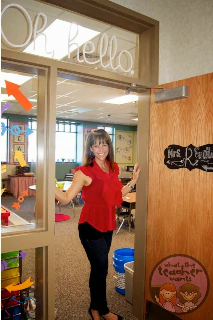 Classroom Door Decor Ideas | Erica's Ed-Ventures