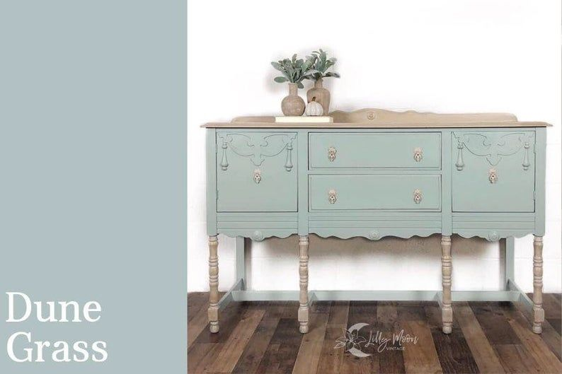 Country Chic Paint Dune Grass Happy Hour Fancy Frock Etsy In 2020 Country Chic Paint Amy Howard Painted Furniture Painted Furniture