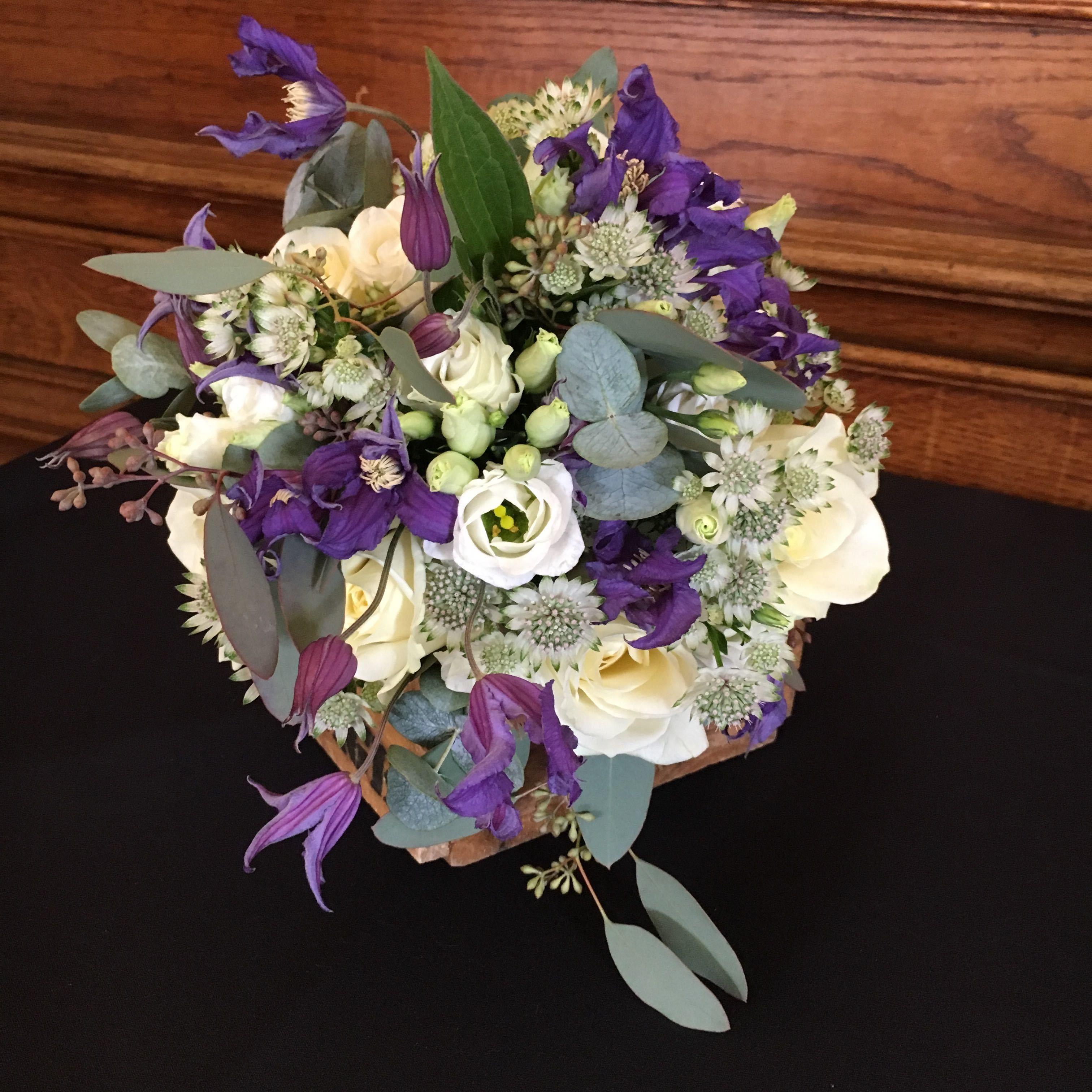 Whites And Purple Bridal Gardenia Wedding Flowers Gardenia Wedding Flowers Today