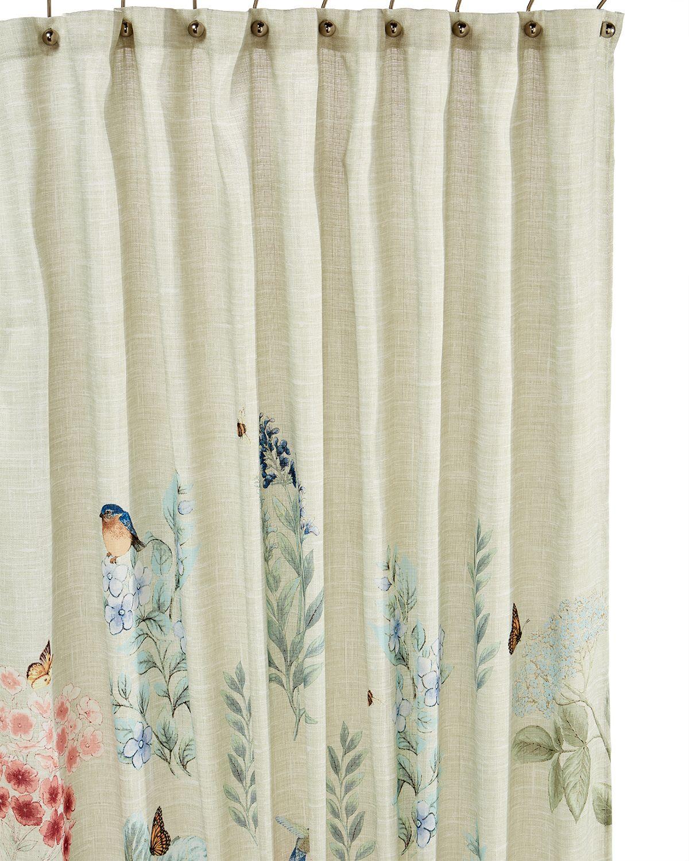 Meadow Birds Shower Curtain Pinterest