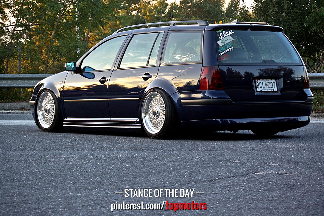 Stance Of The Day Vw Wagon Jetta Wagon Vw Mk4