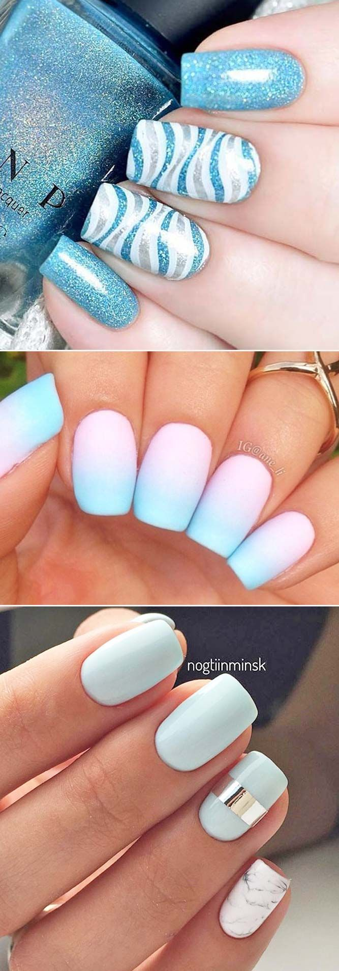 24 Eye-Catching Designs for Fun Summer Nails | Forget, Check and Summer
