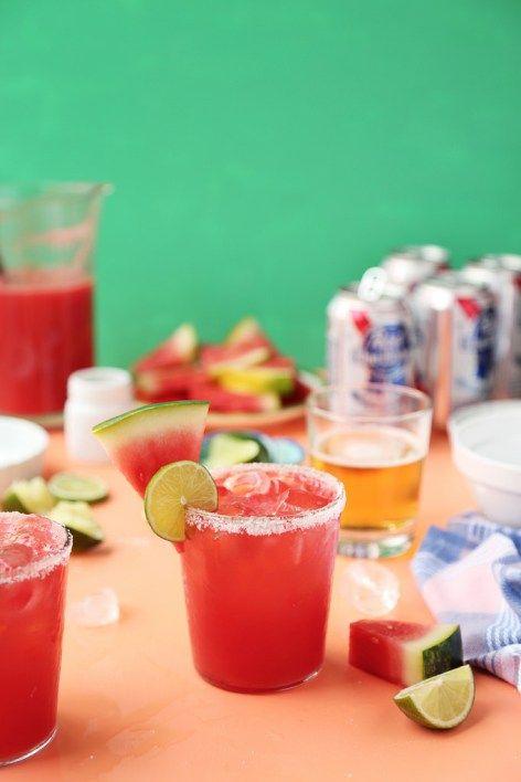 Watermelon Texas Margarita