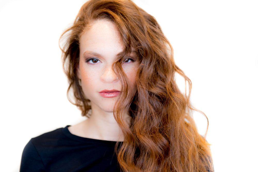 Natural Waves And Natural Makeup Done By Monica Landrum At Fresh