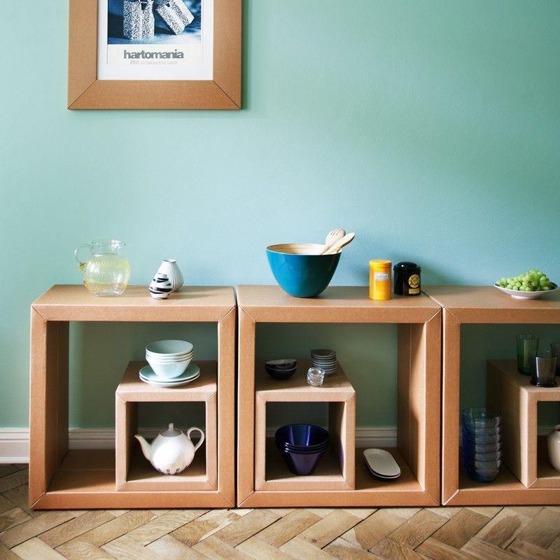 regal element gro 4er pack diy pinterest pappe m bel aus pappe und regal. Black Bedroom Furniture Sets. Home Design Ideas
