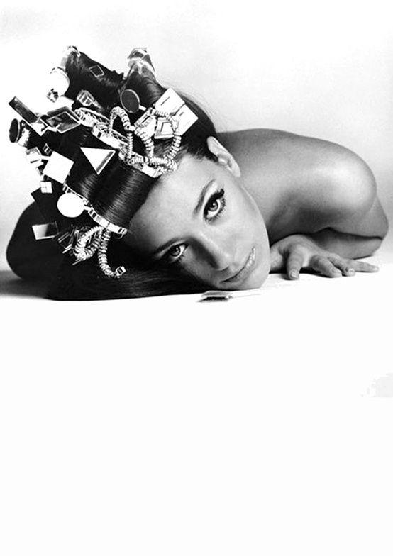 Marisa Berenson photographed by Melvin Sokolsky.