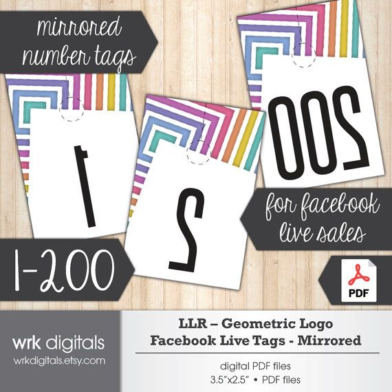 picture regarding Free Printable Live Sale Numbers identify LuLaRoe Fb Are living Sale Range Tags Reflected as a result of