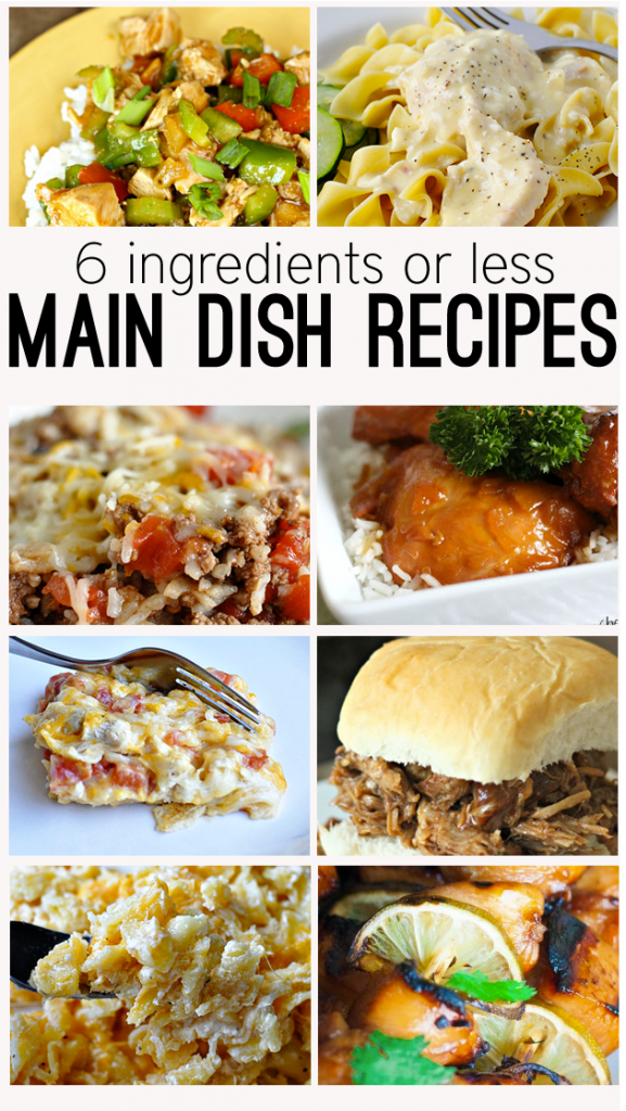 6 ingredients or less main dish recipes recetas recetas para 6 ingredients or less main dish recipes an easy way to get dinner on the forumfinder Images